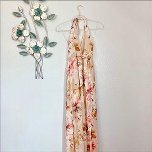 Maternity Floral Maxi Dress